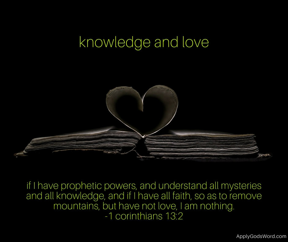 knowledge and love mark ballenger apply gods word