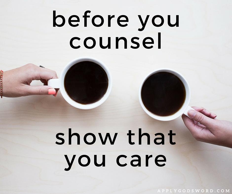 Christian advice