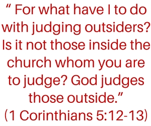 should a christian correct a non-christian pic