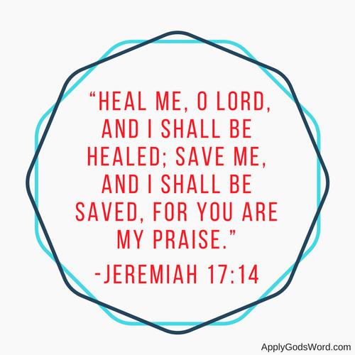 Healing grieving bible Christian