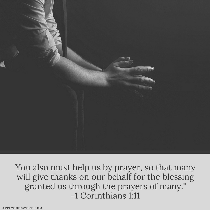 benefits of praying for others