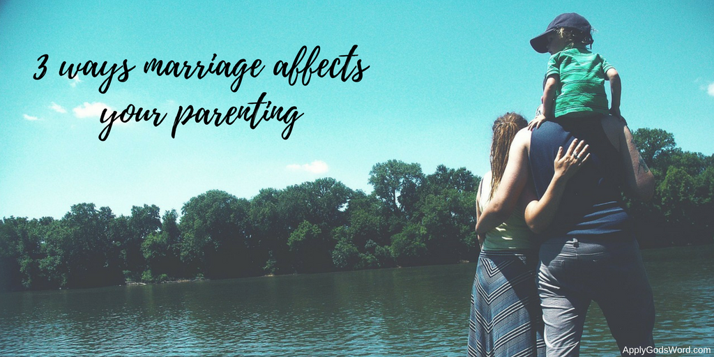 how marriage affects parenting