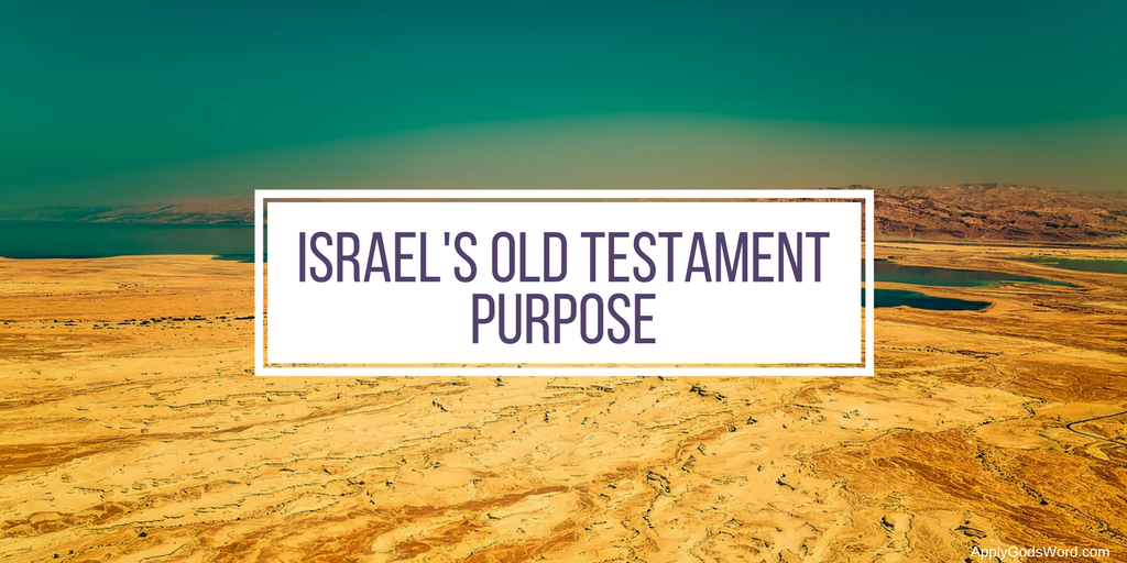 What was israel's purpose in the Old Testament