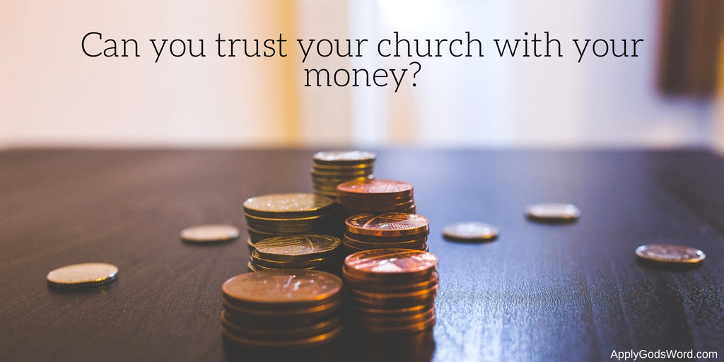 money problems in the church