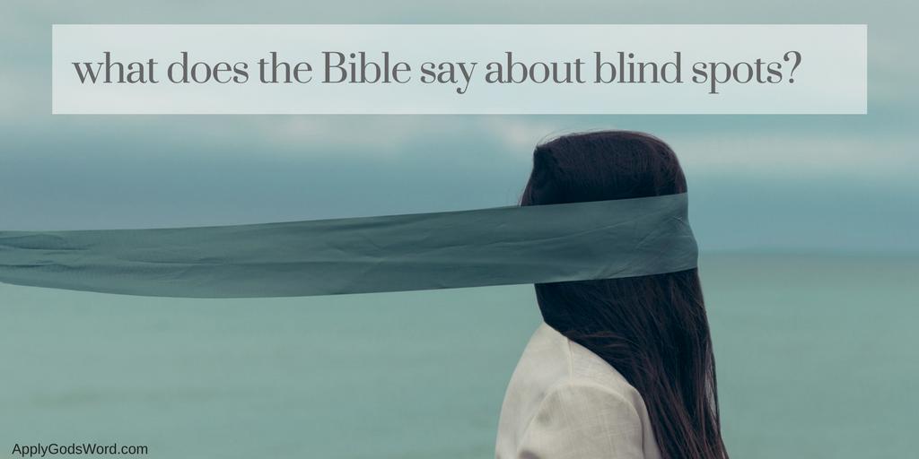 spiritual blind spots bible