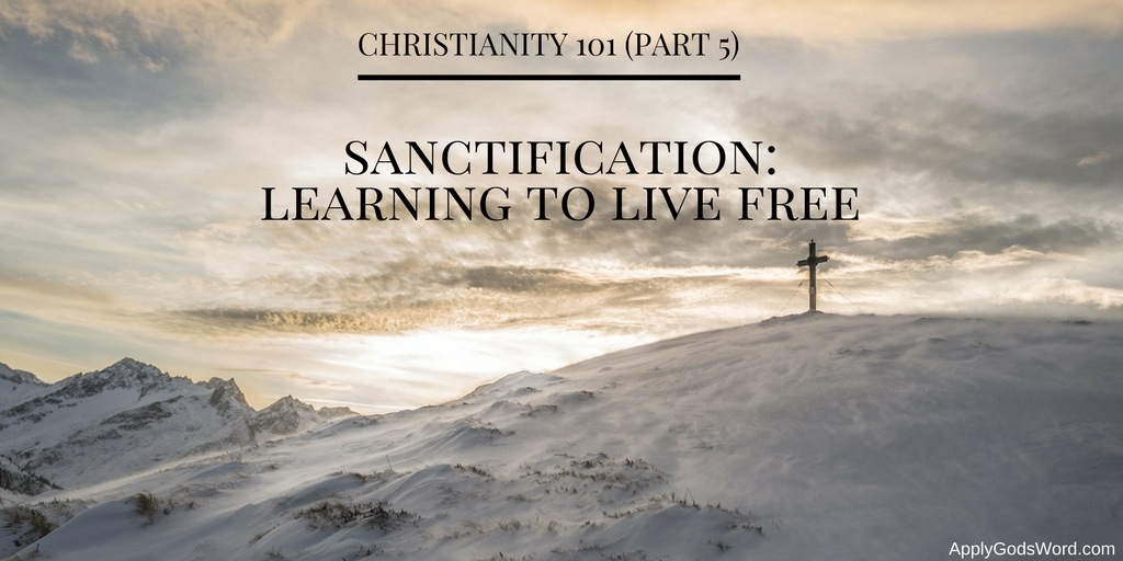 sanctification bible