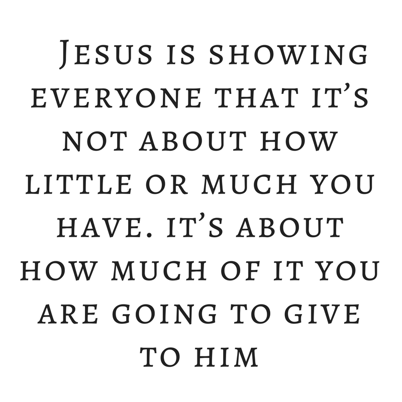 jesus provides for the 5000