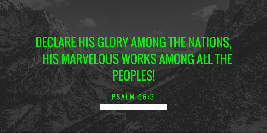 what is the glory of God according to the bible