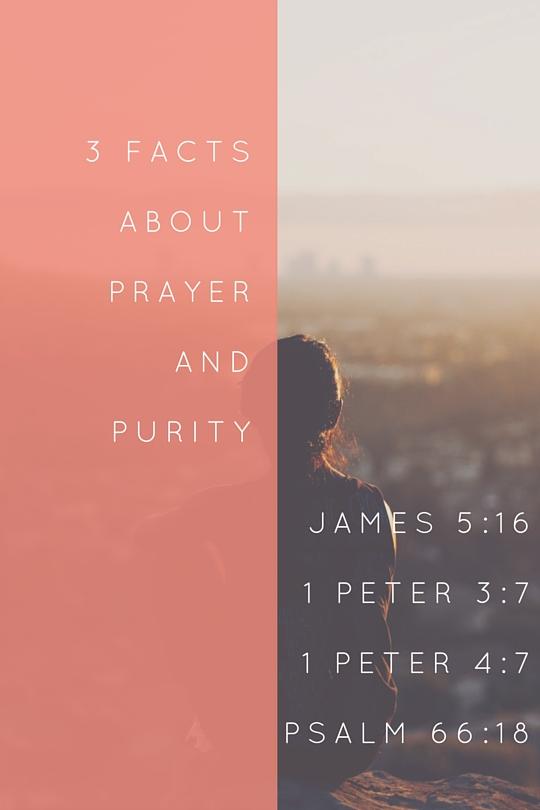 Prayer Purity Power