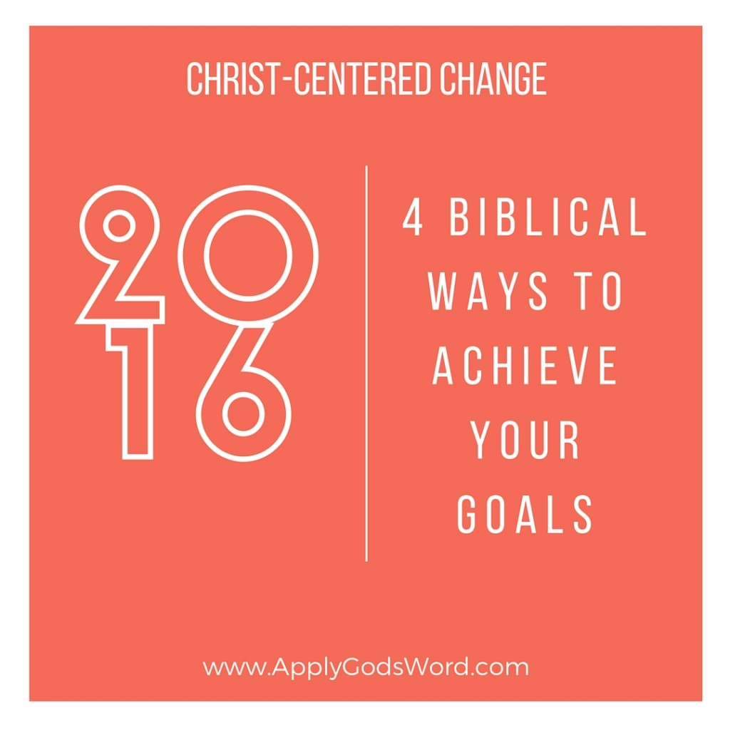Christian ways to change your life