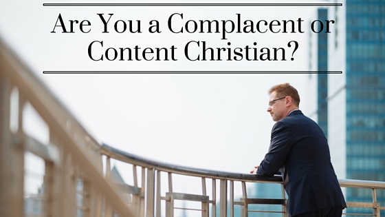 The Danger of Christian Complacency pic