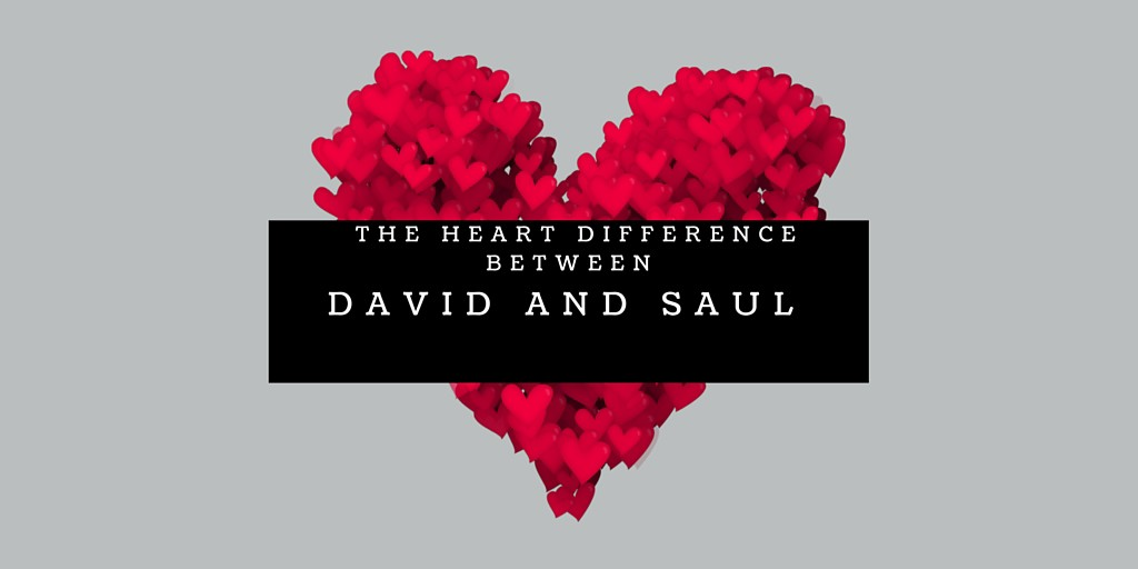 What is the difference between King David and King Saul comparison Bible