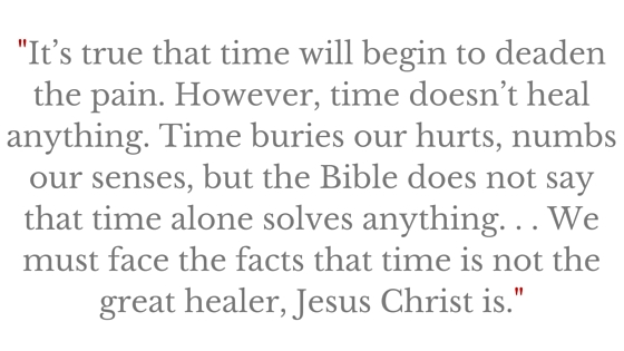 Does the Bible Say Time heals all wounds_ (2)