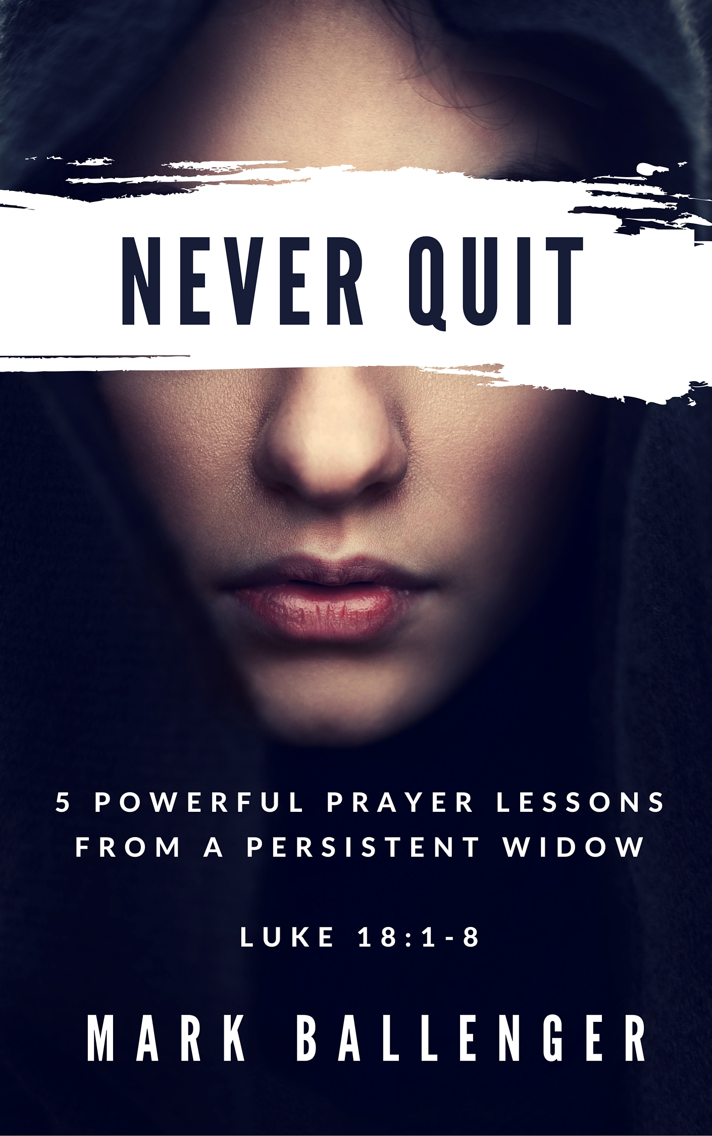 Never Quit by mark ballenger luke 18:1-8