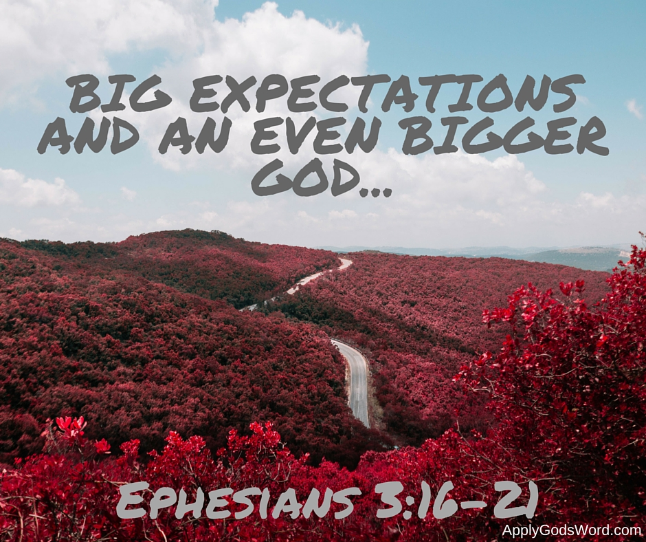 what does the bible say about expectations of god