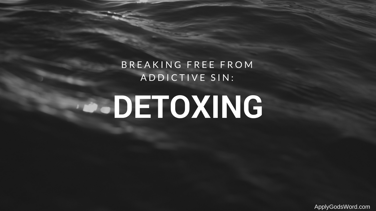 bible detoxing christian