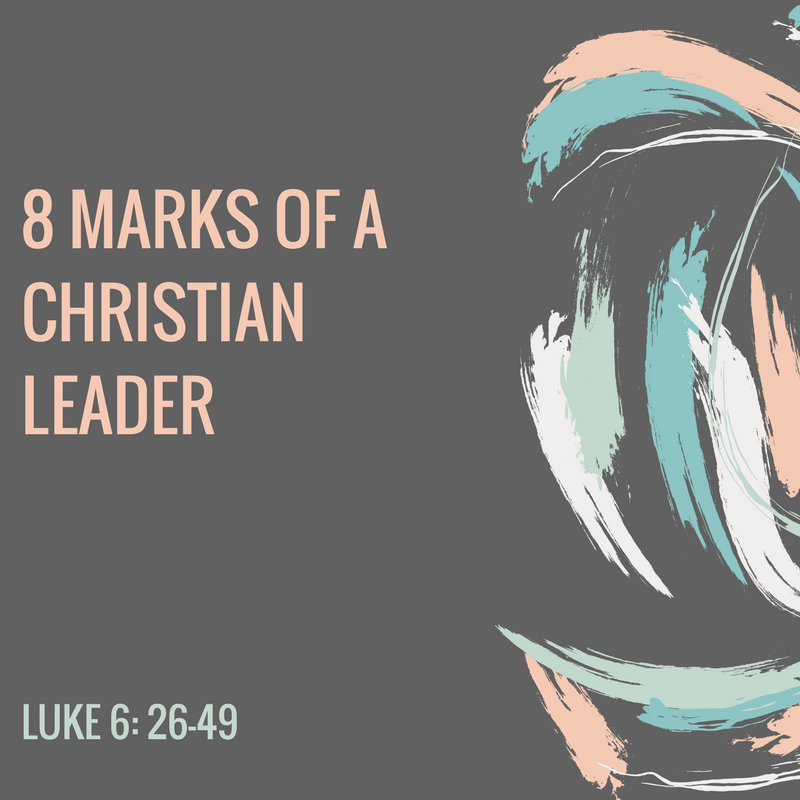 marks of Christian leader