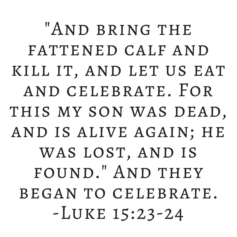 Why Did the Father of the Prodigal Son Celebrate His Homecoming? Luke 15