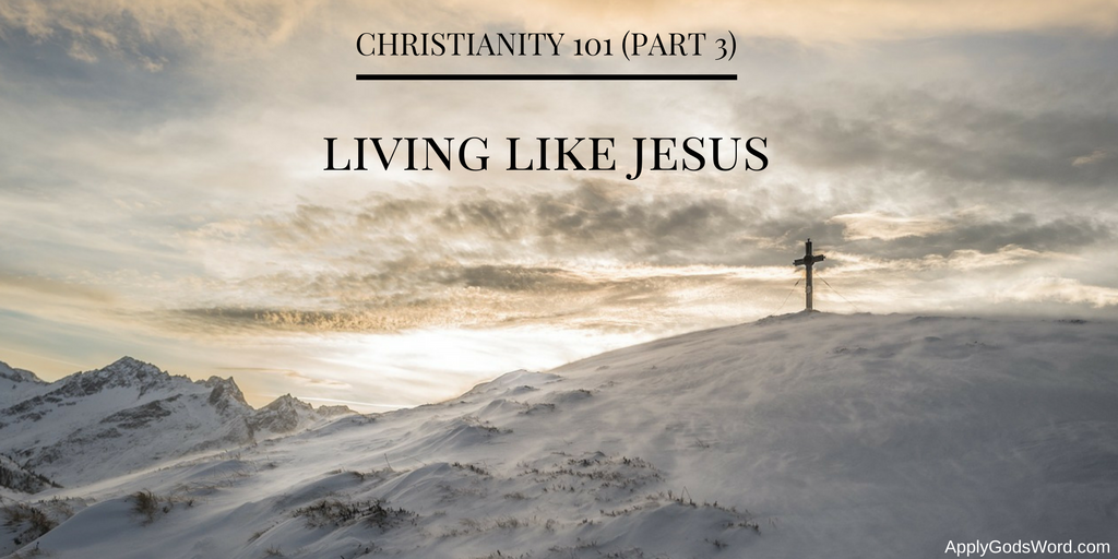Christianity 101 living like Jesus