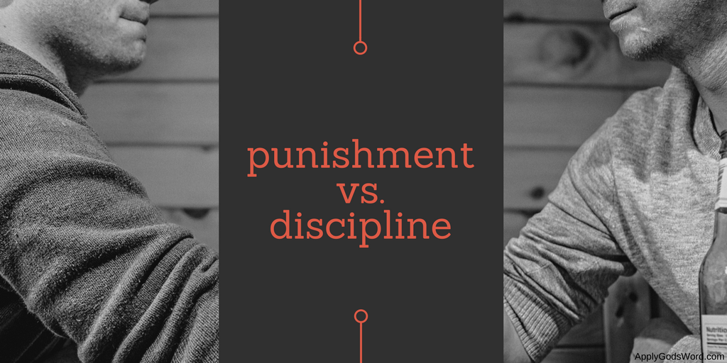 difference between punishment discipline bible