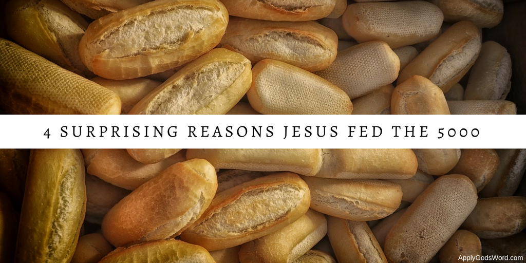 Why Jesus fed the 5000