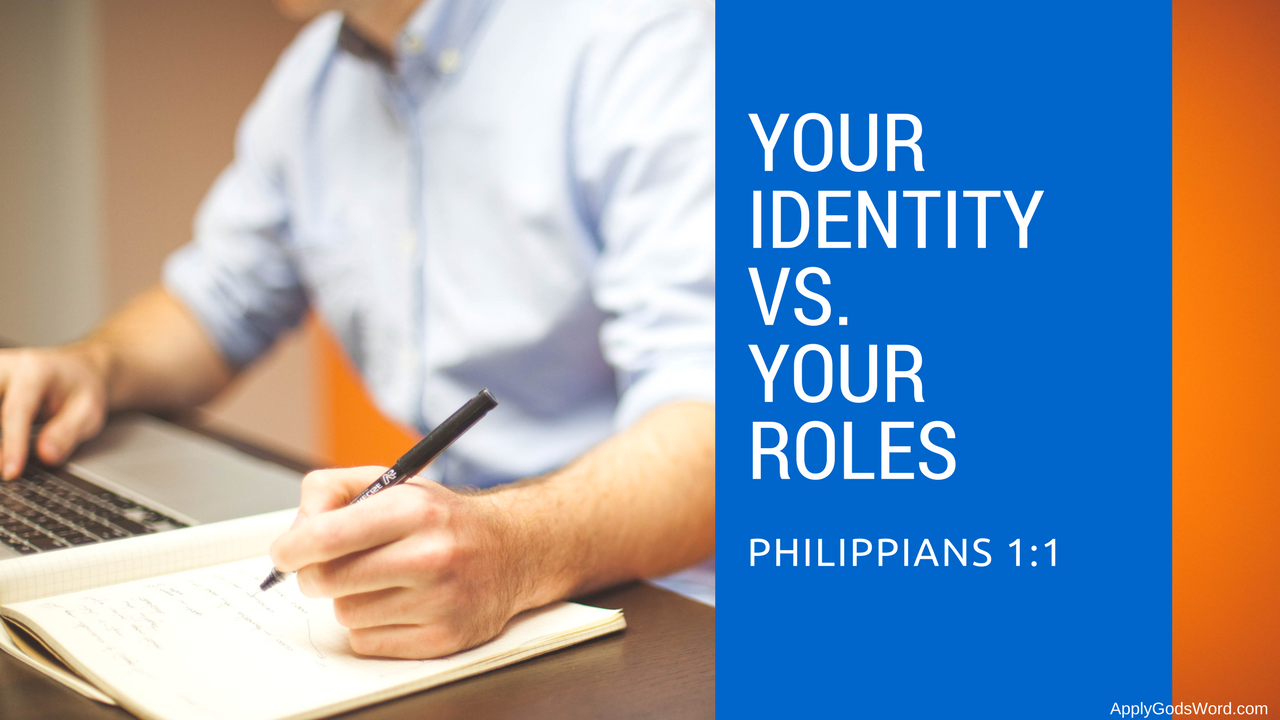 difference between identity and roles bible