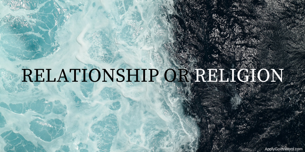 relationship vs religion