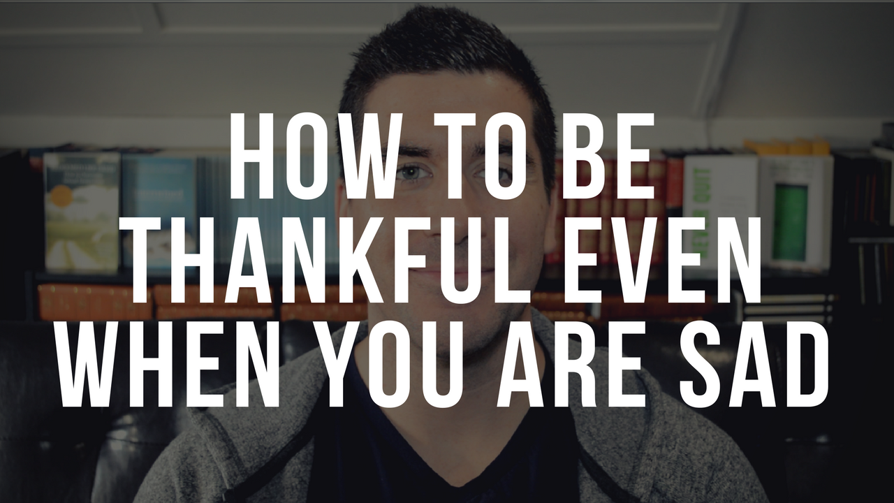 how to be more thankful