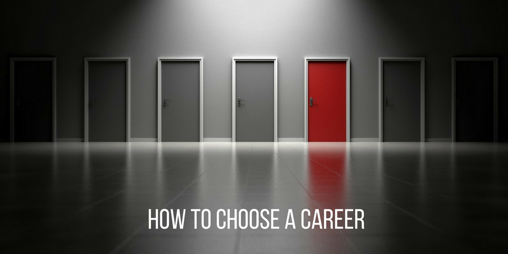 Christian advice how to choose a career