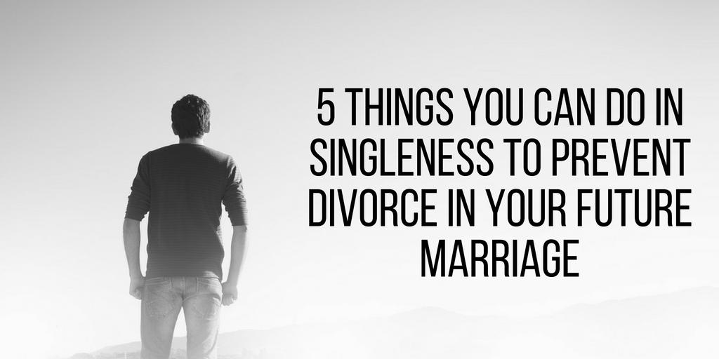Preventing Divorce