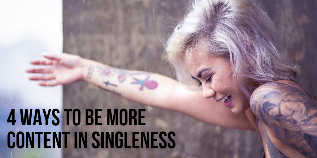 how to be content in singleness christian