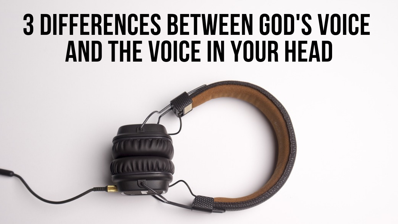 making up God's voice