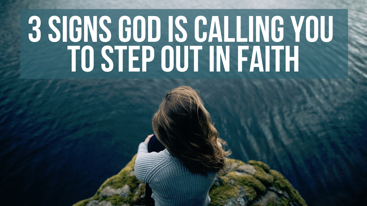 step out in faith bible