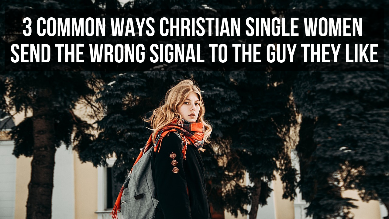 single woman Christian signal
