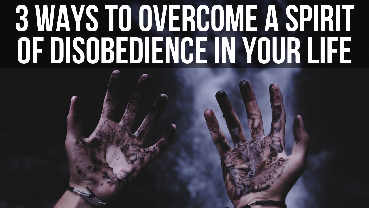 how to be more obedient to God