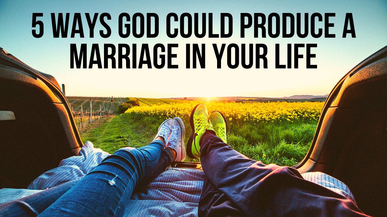 Does God cause marriage