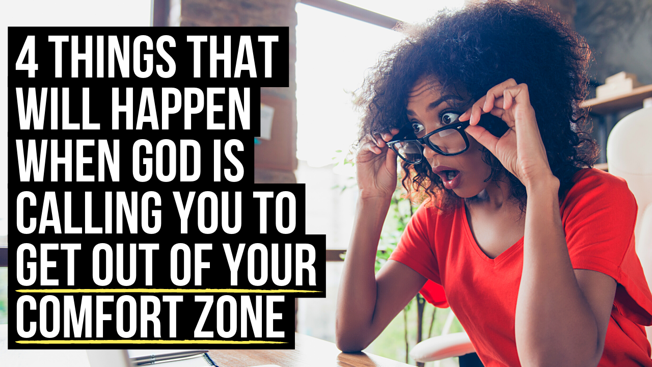 what does the Bible say about leaving your comfort zone